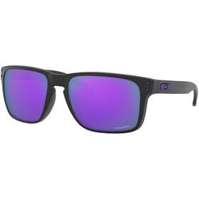 Oakley Holbrook XL Lunettes de soleil Homme, matte black/prizm violet